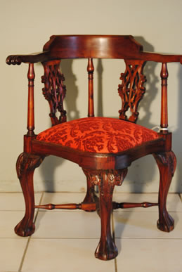 Chippendale Corner Chairs ...